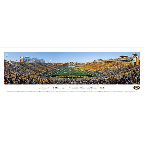 Mizzou 2014 Homecoming Panorama Print