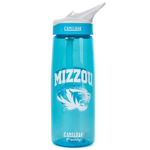 Mizzou CamelBak Light Blue Bottle