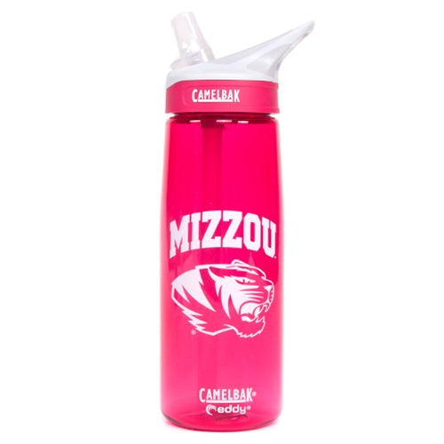 Mizzou CamelBak Tiger Head Dragonfruit Water Bottle