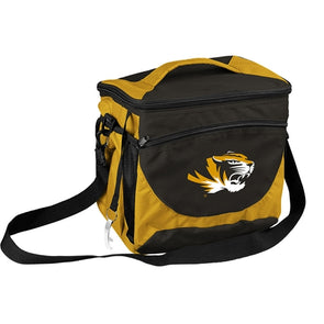 Mizzou Black & Gold 24 Can Cooler