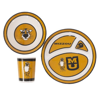 Mizzou Kids' 3-Piece Dinner Set