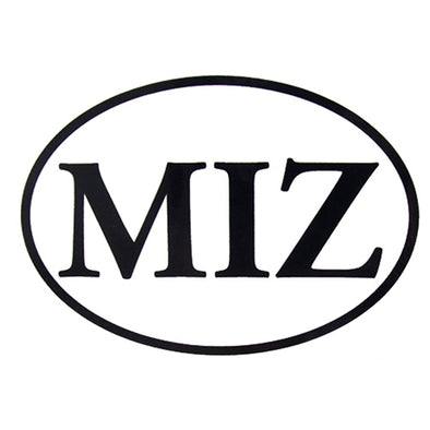 Mizzou MIZ Oval Decal