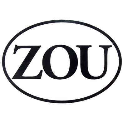 Mizzou ZOU Oval Decal