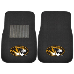 Mizzou Oval Tiger Head Car Mat