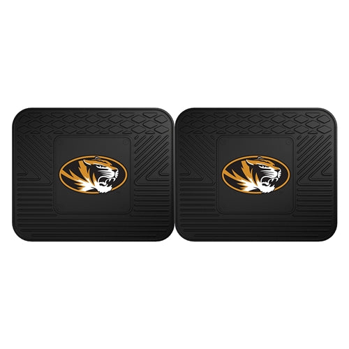 Mizzou Oval Tiger Head Utility Mat