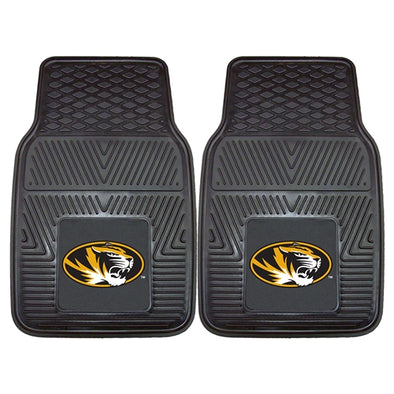 Mizzou Oval Tiger Head Vinyl Car Mat