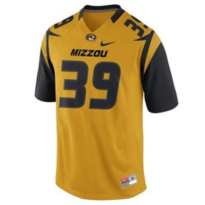 Mizzou Nike® 2017 Gold Replica Football Jersey #39