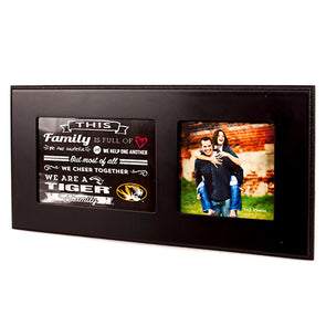 Mizzou Family Cheer Single Photo Frame