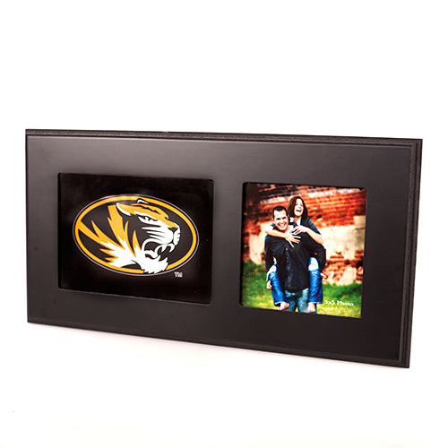 Mizzou Oval Tiger Head Single Photo Frame