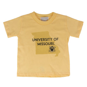 Missouri Toddler Yellow Truman Missouri State T-Shirt