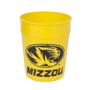 Mizzou Oval Tiger Head Gold Stadium Cup