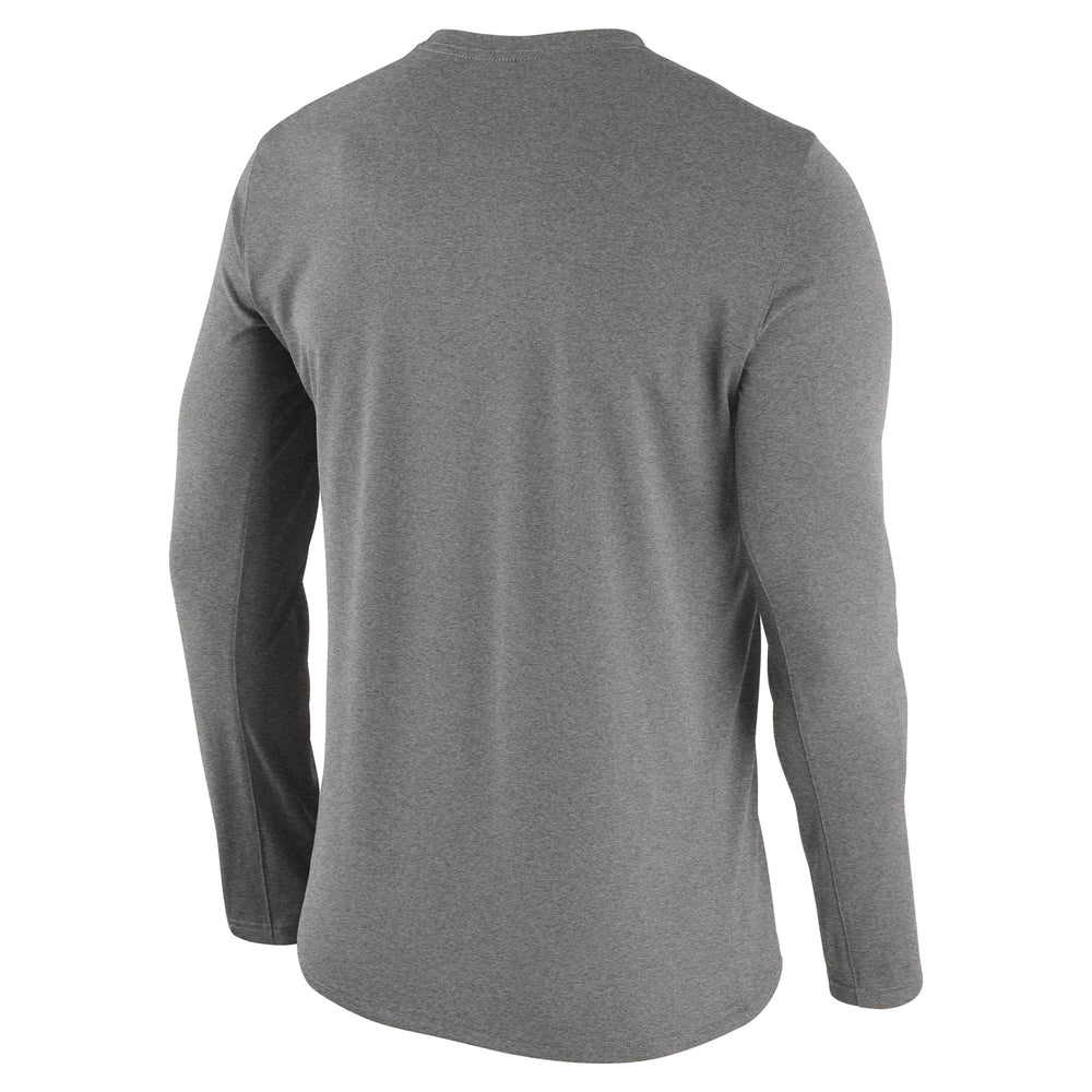91068e888308 Mizzou Nike® 2018 Dri Fit Tigers Oval Tiger Head Grey Long Sleeve T-Shirt