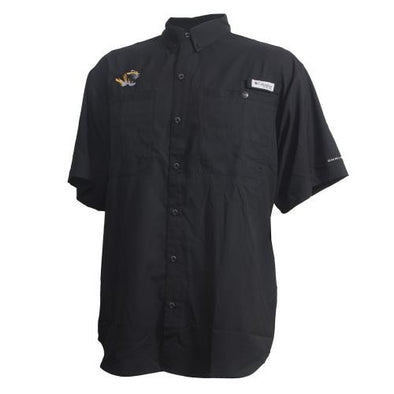 Mizzou Columbia PFG Black Fishing Shirt