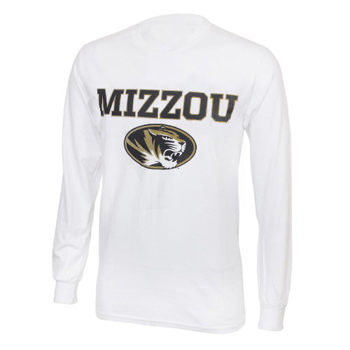 Mizzou White Long Sleeve SEC All Teams T-Shirt