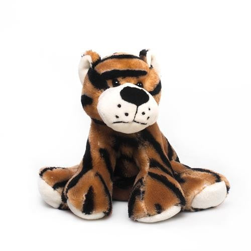 Mizzou Plush Poseable Tiger 9""