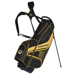 Mizzou Black & Gold Standing Golf Bag