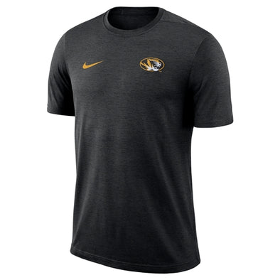 Mizzou Nike® 2018 Oval Tiger Head Black Athletic T-Shirt