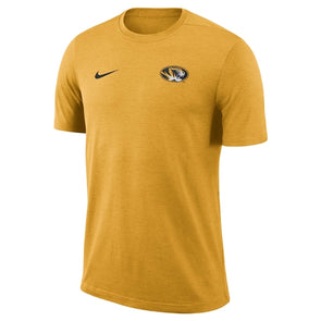 Mizzou Nike® 2018 Oval Tiger Head Gold Athletic T-Shirt