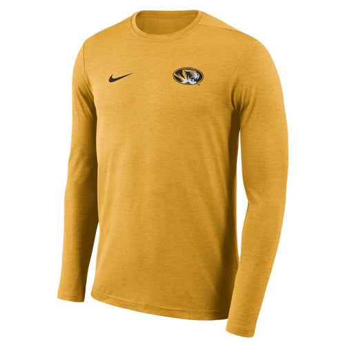 Mizzou Nike® 2018 Oval Tiger Head Gold Athletic Shirt