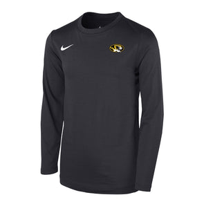 Mizzou Nike® 2018 Kids' Black Crew Neck Shirt