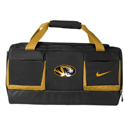 Mizzou Nike® 2018 Black & Gold Duffle Bag