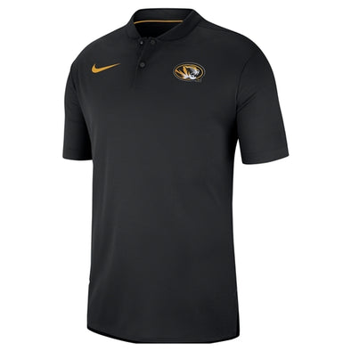 Mizzou Nike® 2018 Oval Tiger Head Black Polo