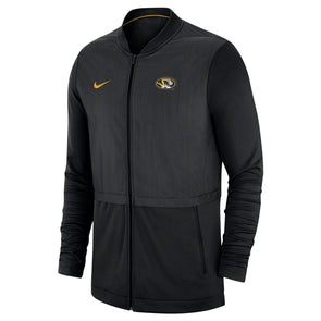 Mizzou Nike® 2018 Oval Tiger Head Black Full Zip Jacket