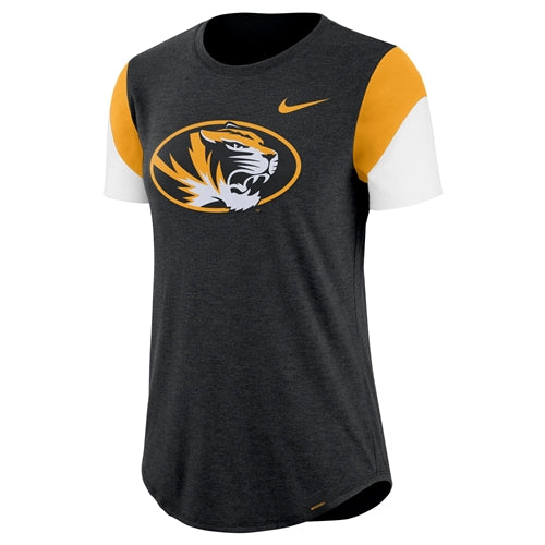 Mizzou Nike® 2018 Juniors' Black Crew Neck T-Shirt