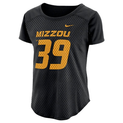 Mizzou Nike® 2018 Juniors' Black & Gold Jersey