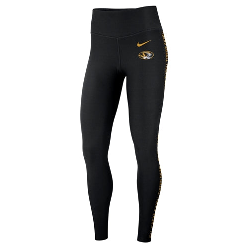 Mizzou Nike® 2018 Juniors' Black Athletic Leggings
