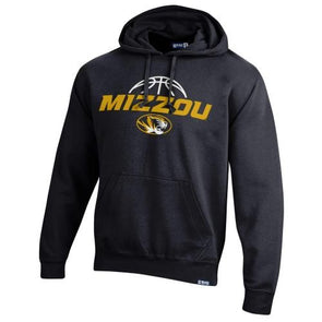 Mizzou 2021 Basketball Oval Tiger Head Black Hoodie