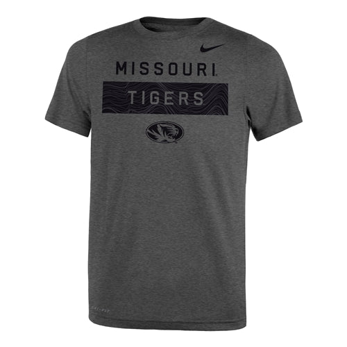 Missouri Tigers Nike® 2018 Kids' Grey Crew Neck T-Shirt