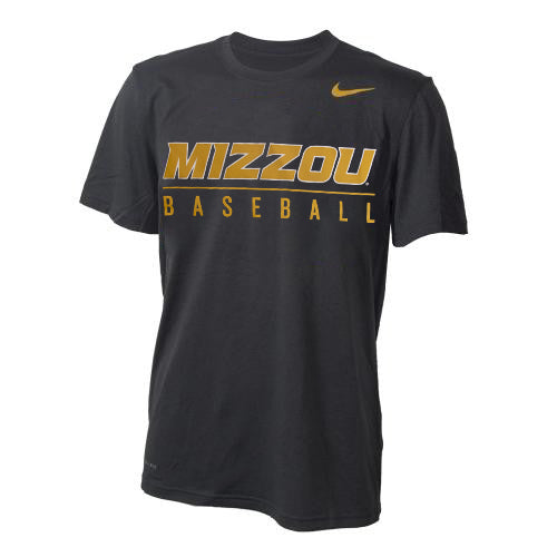 Mizzou Nike® 2018 Baseball Grey Dri-Fit T-Shirt