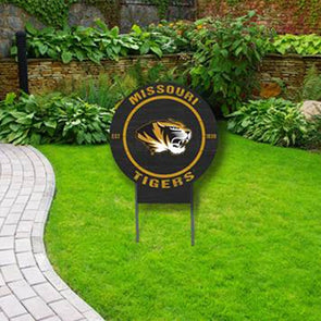 Missouri Tigers Circle Yard Sign
