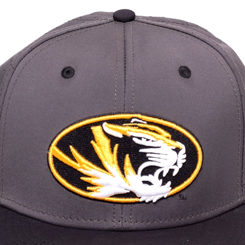 Mizzou 2018 Baseball Replica Grey Stretch-Fit Hat
