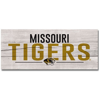 Missouri Tigers Wood Display Board