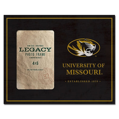 University of Missouri Oval Tiger Head Photo Frame