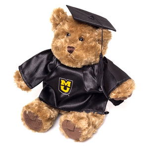 Mizzou Stuffed Graduation Bear