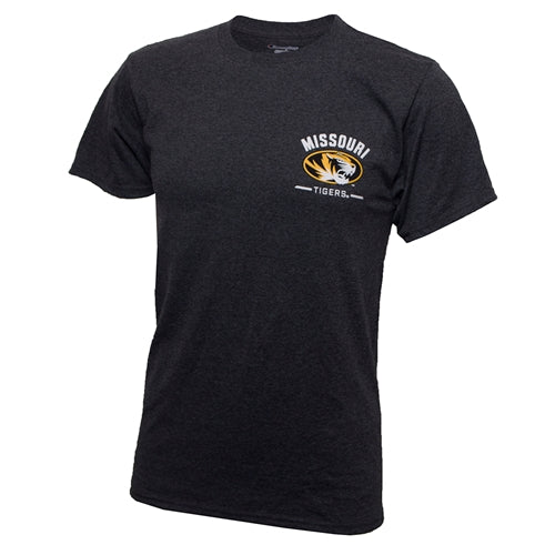 Mizzou SEC All Teams Charcoal Crew Neck T-Shirt