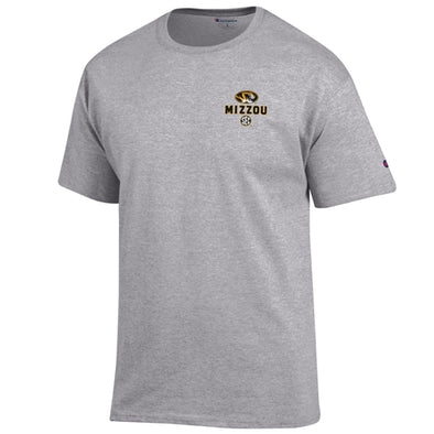 Mizzou SEC All Teams Grey Crew Neck T-Shirt
