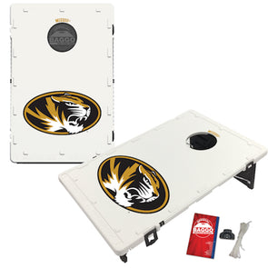 Mizzou Oval Tiger Head Bag Toss Game