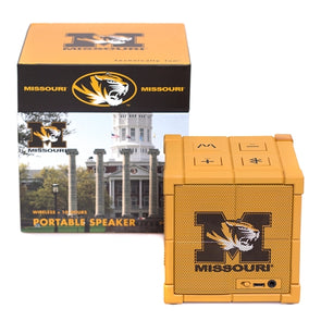 Mizzou Kube Black & Gold Wireless Portable Speaker