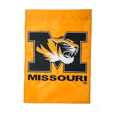 Mizzou Tiger Head Garden Flag