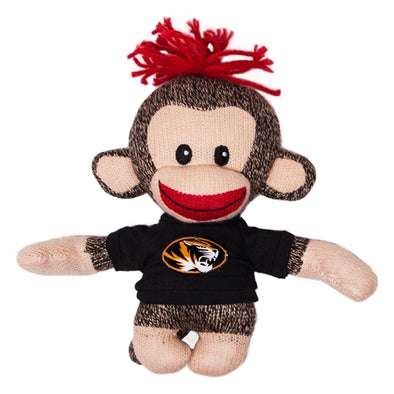 "Mizzou 6"" Sock Monkey with Oval Tiger Head T-Shirt"