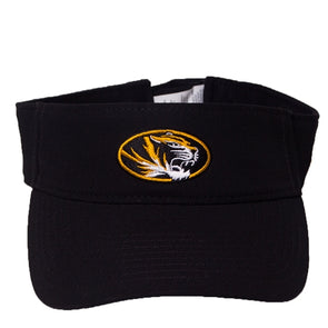 Mizzou Nike® 2019 Oval Tiger Head Black Visor