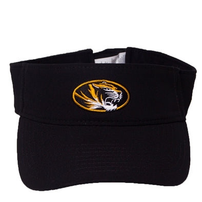 1d18e93f3c956 Mizzou Nike® 2019 Oval Tiger Head Black Visor