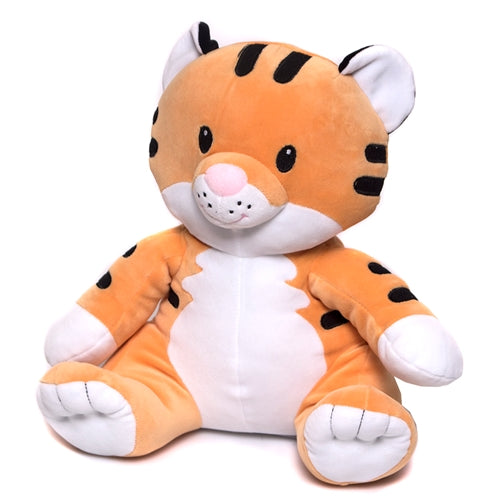 "Huggy Huggables 12"" Stuffed Tiger"