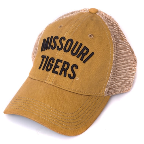 Missouri Tigers Yellow Trucker Hat – Tiger Team Store 5fe4d33f3c3c