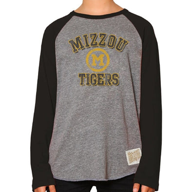 Mizzou Tigers Classic Collection Kids' Grey Crew Neck Shirt