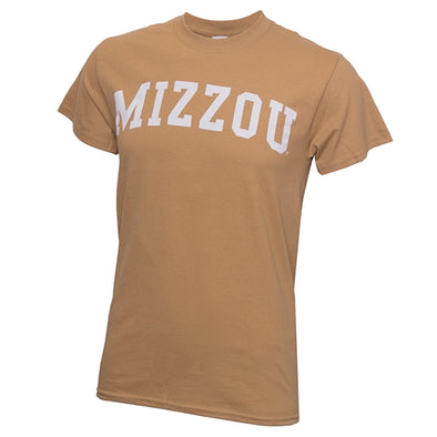 Mizzou Old Gold Crew Neck T-Shirt